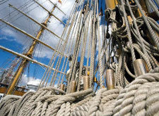 Ropes, mooring lines & nets